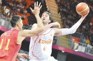 首战西班牙是中国男篮的唯一亮点