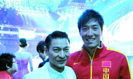 刘德华与刘翔。