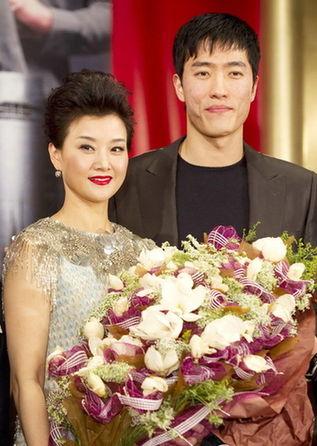 宋祖英与刘翔。