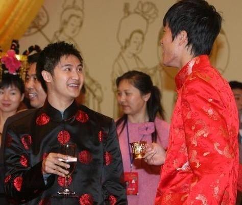 田亮与刘翔。