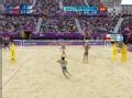 奥运视频-薛晨体力不支失防守 女子沙排半决赛