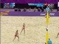 奥运视频-美国老将巧妙吊空档 女子沙排半决赛