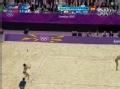 奥运视频-中国组合多次救险 张希重扣紧追比分