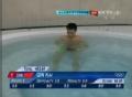 奥运视频-秦凯向前翻腾暂列第一 跳水男个3米板