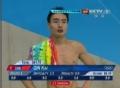 奥运视频-秦凯最后一跳动作完美 跳水男个3米板