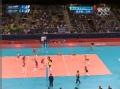 奥运视频-加莫娃送远端杀球 女排俄罗斯VS巴西