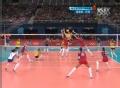奥运视频-罗德里格斯扣底角 女排俄罗斯VS巴西
