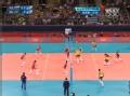 奥运视频-泰沙网前重扣抡空 女排俄罗斯VS巴西