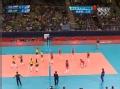 奥运视频-梅内塞斯中路扣球 帮助巴西扳回一局