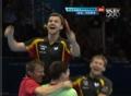 视频-德国乒乓球队夺铜欢呼 奥运不只为冠军