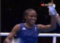 奥运视频-亚当斯强力压制对手 拳击女子51公斤