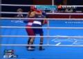 奥运视频-印度选手猛击对方后脑 受裁判员警告