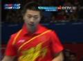 奥运视频-马龙接发球直击拿下1局 乒乓男团决赛
