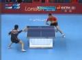 奥运视频-马龙反手对角线快撕球 乒乓男团决赛