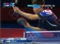 奥运视频-柳承敏反拉攻势赢第3局 乒乓男团决赛