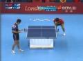 奥运视频-张继科侧身强势扣杀球 乒乓男团决赛