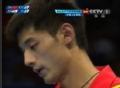 奥运视频-张继科变向反拉球得手 乒乓男团决赛