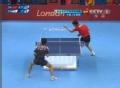奥运视频-张继科斜线反拉赢第3局 乒乓男团决赛