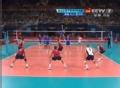 奥运视频-克里斯蒂暴力跳发 男排美国VS意大利