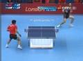 奥运视频-张继科对角线大力拉球 乒乓男团决赛