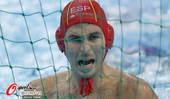 奥运图:西班牙水球惜败黑山 西班牙球员