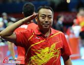 奥运图:中国王者之师横扫卫冕 刘国梁敬军礼