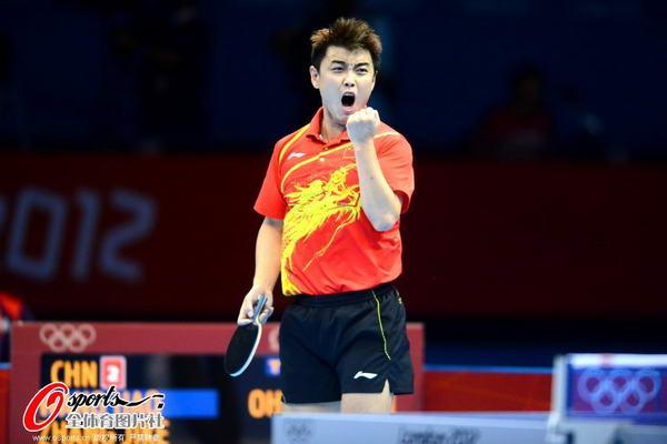 奥运图:中国王者之师横扫卫冕 赢了!
