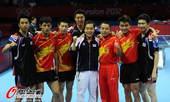 奥运图:中国王者之师横扫卫冕 整个团体