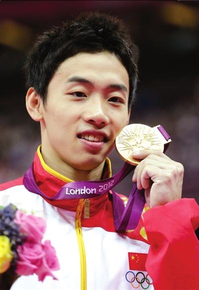 邹凯男子自由体操夺冠。