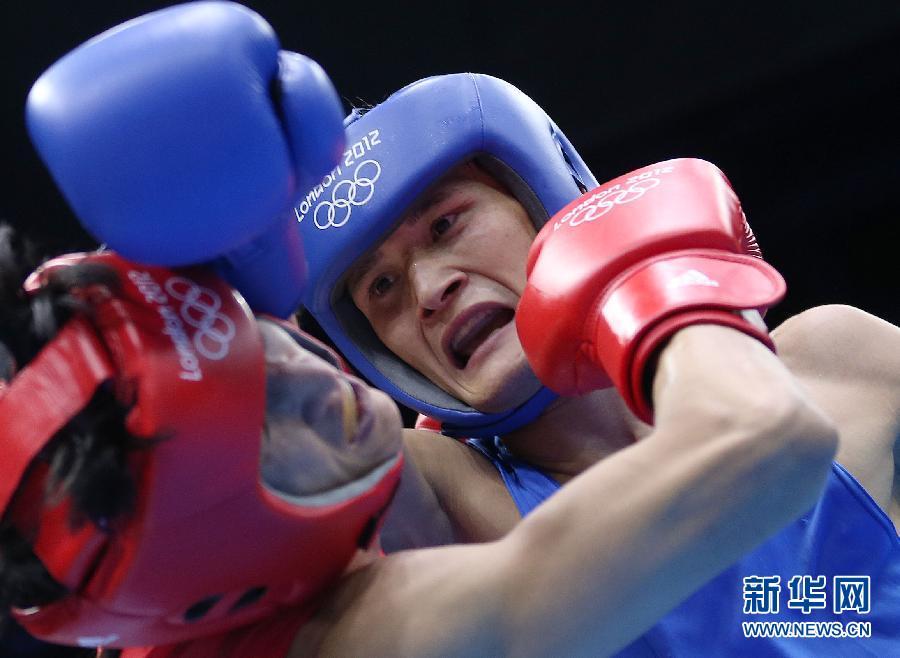 拳击:邹市明晋级四强