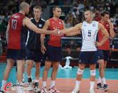 奥运图:意大利男排击败美国 美国队员无奈