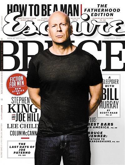 布鲁斯·威利斯 为《环形使者》拍时尚大片(图)