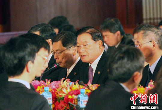 两岸两会领导人第八次会谈台北登场图片