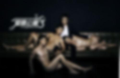 《爱情公寓3》在开机之初几位演员拍摄的大尺度海报引来麻烦(尺度问题,马赛克处理)
