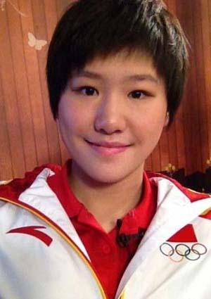 奥运冠军叶诗文也是《爱情公寓》的忠实粉丝