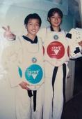 奥运图:跆拳道吴静钰卫冕冠军 在景德镇体校时