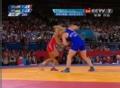 奥运视频-春美玲背摔3分完胜 摔跤女子48公斤级