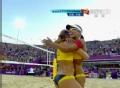 奥运视频-中国女子沙排遗憾失铜 1-2负巴西组合