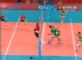 奥运视频-索科洛夫网前截击  大力扣杀直逼死角