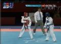 奥运视频-吴静钰急速下劈腿击头 4-0赢第一回合