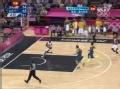 奥运视频-保罗秀闲庭信步上篮 美国VS澳大利亚
