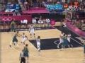 奥运视频-纽利零度角飙中三分 美国VS澳大利亚