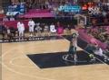 奥运视频-美国队流畅快速传递 勒夫篮下秀暴扣