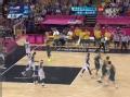 奥运视频-米尔斯送三分加抢断 美国VS澳大利亚