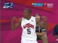 奥运视频-詹姆斯背后长眼送妙传 勒夫双手暴扣