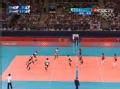 奥运视频-美国队被动回球 韩国队判断失误丢分