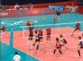 奥运视频-韩松伊强攻遭三人拦网 韩国VS美国