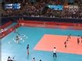 奥运视频-金延璟发球直接得分 女排美国VS韩国