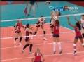 奥运视频-杨孝珍网前轻吊得手 女排美国VS韩国