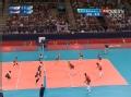 奥运视频-韩国队拦网遗憾出界 女排美国VS韩国